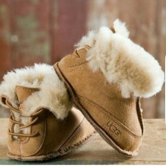 UGG Other - {UGG} Infant Baby Ugg with Back Opening Boots Shoe